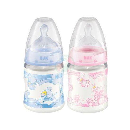 Steklenica polipropilen BABY s silikonskim cucljem, 150 mL