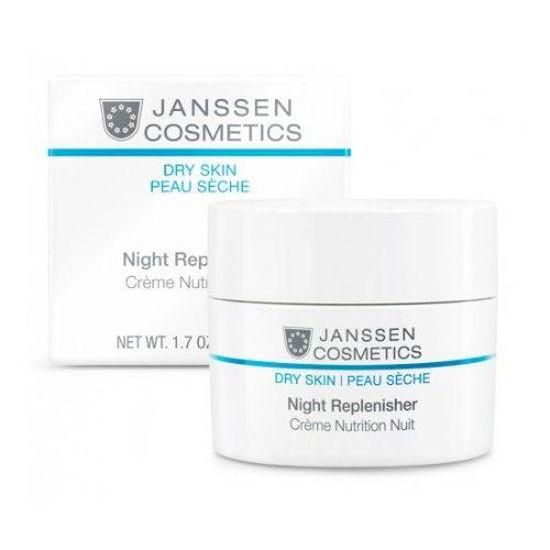 Janssen Cosmetics Night Replenisher bogata nočna negovalna krema, 200 mL