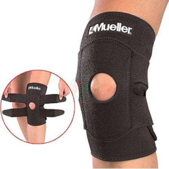 Mueller neoprenska kolenska manšeta s trakovi