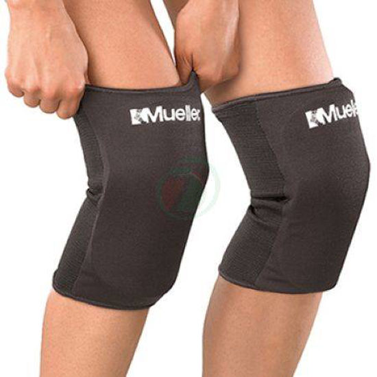 Mueller črni ščitniki za koleno, 1 par