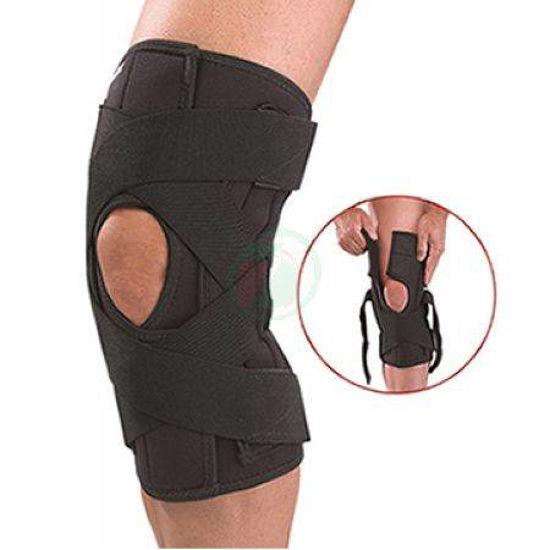 Mueller Deluxe kolenska opornica z bandažo, 1 opornica