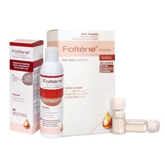 2x Foltene ampule za moške + regenerativni šampon (GRATIS)