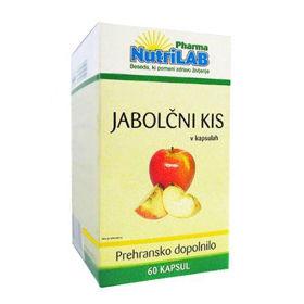 Slika Nutrilab jabolčni kis 400 mg, 60 kapsul
