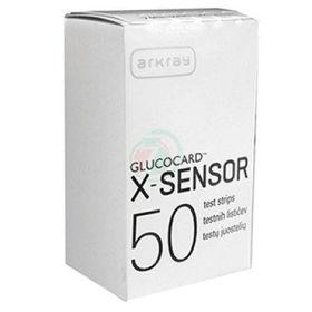 Slika Glucocard X, 50 testnih lističev
