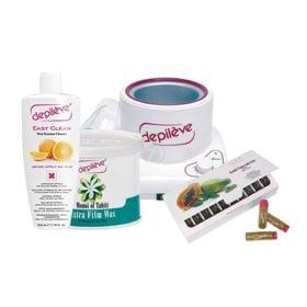 Slika 3. paket izdelkov za depilacijo za moške (Depileve)