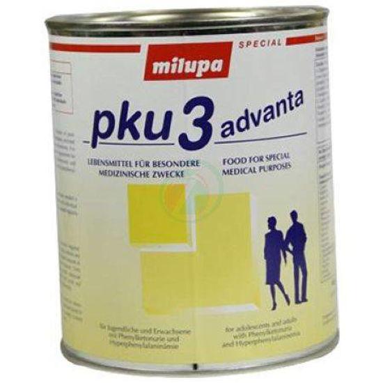 Milupa PKU 3 advanta v pločevinki, 500 g