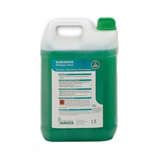 Surfanios Citron čistilno sredstvo za tla, 5000 mL