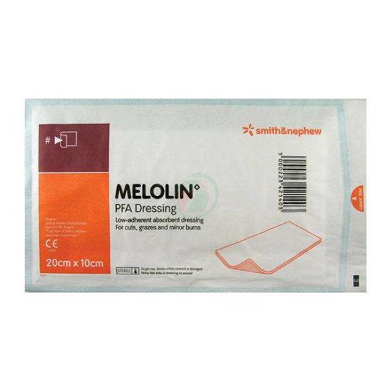 Melolin sterilne obloge 10x20 cm, 100 oblog