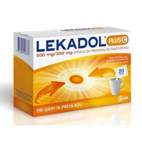 Slika Lekadol plus C zrnca v vrečkah, 20x5g