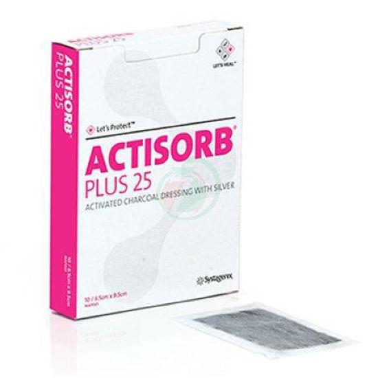 Actisorb plus - 6,5x9,5cm, 10 kom