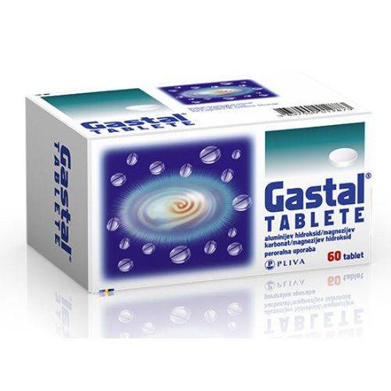Gastal tablete, 60 tablet
