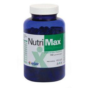 Slika NutriMax modrozelene AFA alge, 150 kapsul