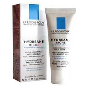 Slika La roche posay Hydreane Riche bogata krema s termalno vodo za občutljivo kožo, 40 mL