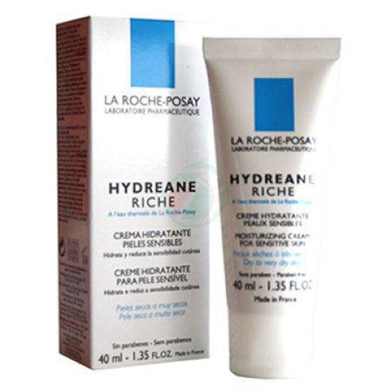 La roche posay Hydreane Riche bogata krema s termalno vodo za občutljivo kožo, 40 mL