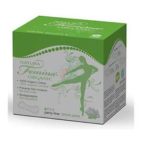 Slika Natura Femina Organic, 24 ščitnikov perila