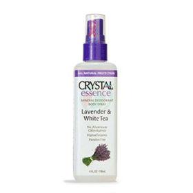 Slika Crystal essence mineralni deodorant v razpršilu s sivko in belim čajem, 118 mL