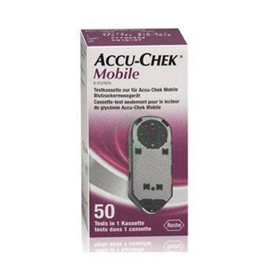 Accu-chek mobile testni lističi, 50 lističev