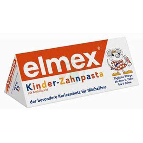 Elmex junior zobna krema za otroke (0 - 6 let), 50 mL