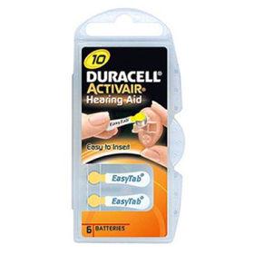 Slika Duracell activair baterije za slušni aparat TIP 10, 6 kom.