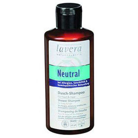 Slika Lavera neutral šampon za lase in telo, 200 mL