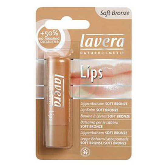 Lavera soft bronze balzam za ustnice, 4,5 g