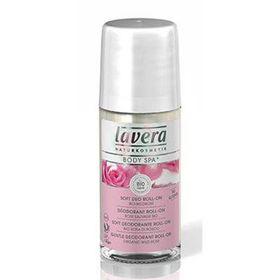 Slika Lavera body spa nežen deodorant roll-on čutna vrtnica, 50 mL