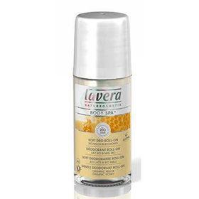 Slika Lavera body spa nežen deodorant roll-on medeni trenutki, 50 mL