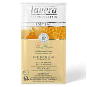 Slika Lavera body spa sol za kopel medeni trenutki, 80 g