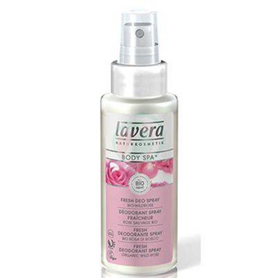 Lavera body spa svež deodorant sprej čutna vrtnica, 50 mL