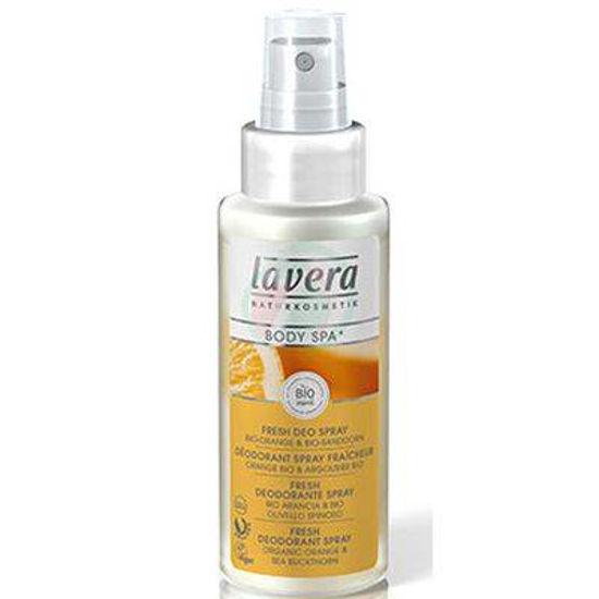 Lavera body spa svež deodorant sprej dotik pomaranče, 50 mL