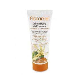 Slika Florame krema za roke mandarina ylang - ylang, 50 mL