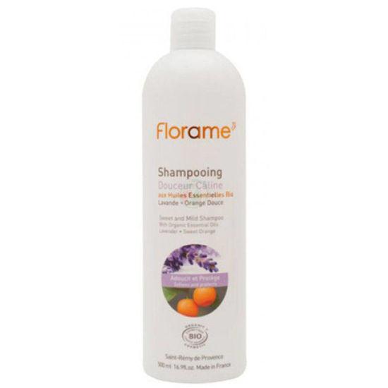 Florame blag in nežen šampon za pogosto pranje, 500 mL