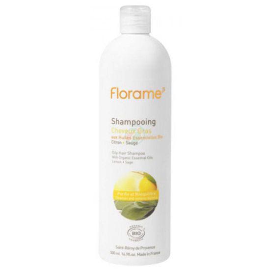 Florame šampon za mastne lase, 200 mL