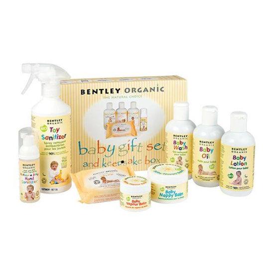 Bentley Organics komplet naravne BIO nege za dojenčke, 1 set