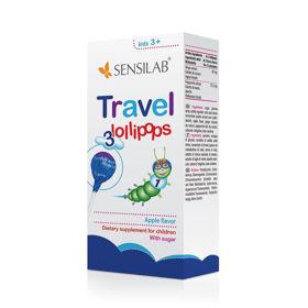 Slika Sensilab Travel lollipops lizike za potovanje, 3 lizike