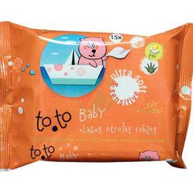 Slika Toto baby vlažni otroški robčki, 64 kom.