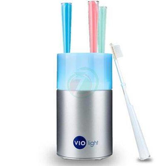 UV družinski sterilizator in shranjevalec zobnih ščetk