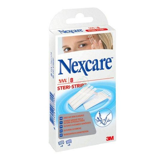 Nexcare Steri-strip šivi za brezživni tretma ran, 8 trakcev