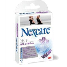Slika Nexcare 3M gel strip specialni vodotesni obliži za zdravljenje žuljev, 5 obližev