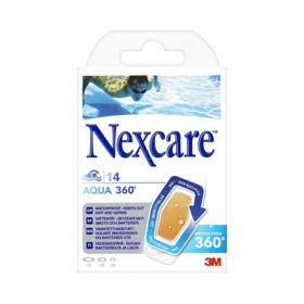 Slika Nexcare 3M Active vodoodporni obliži, 10 obližev