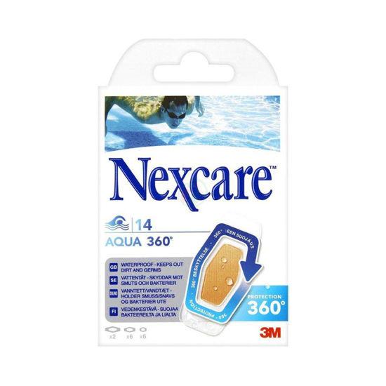 Nexcare 3M Active vodoodporni obliži, 10 obližev