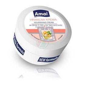 Slika Amai hranilna krema za obraz in telo za suho kožo, 250 mL