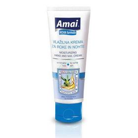 Slika Amai vlažilno zaščitna krema za roke in nohte za normalno kožo, 100 mL