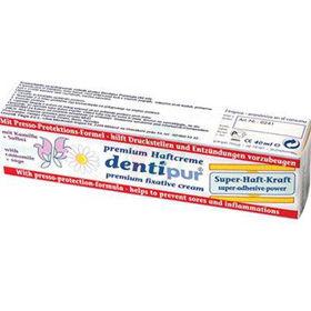 Slika Dentipur lepilna krema za pritrjevanje proteze, 40 mL