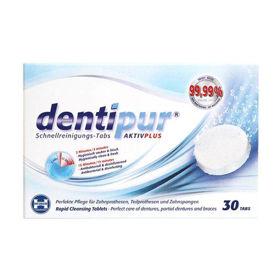 Slika Dentipur tablete za čiščenje protez, 30 tablet