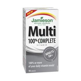 Slika Jamieson Multi 100% Complete Adults za odrasle nad 50 let, 90 tablet
