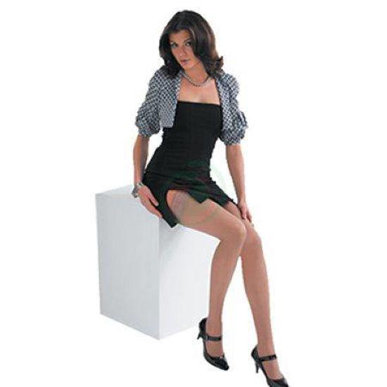 Scudotex ženske samostoječe nogavice 140 DEN, 1 nogavice