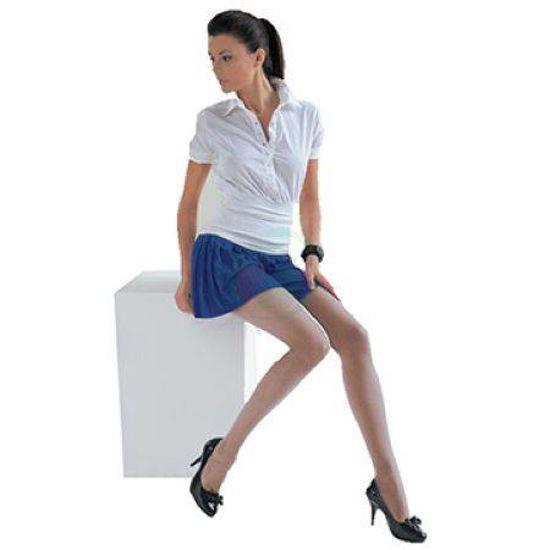 Scudotex ženske nosečniške hlačne nogavice 70 DEN - odtenek Visone, 1 nogavice