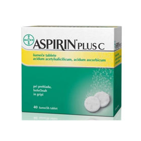 Slika Aspirin plus C, 40 šumečih tablet