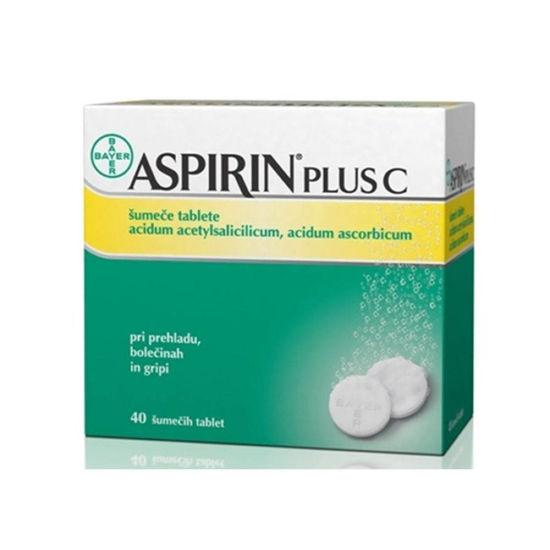 Aspirin plus C, 40 šumečih tablet
